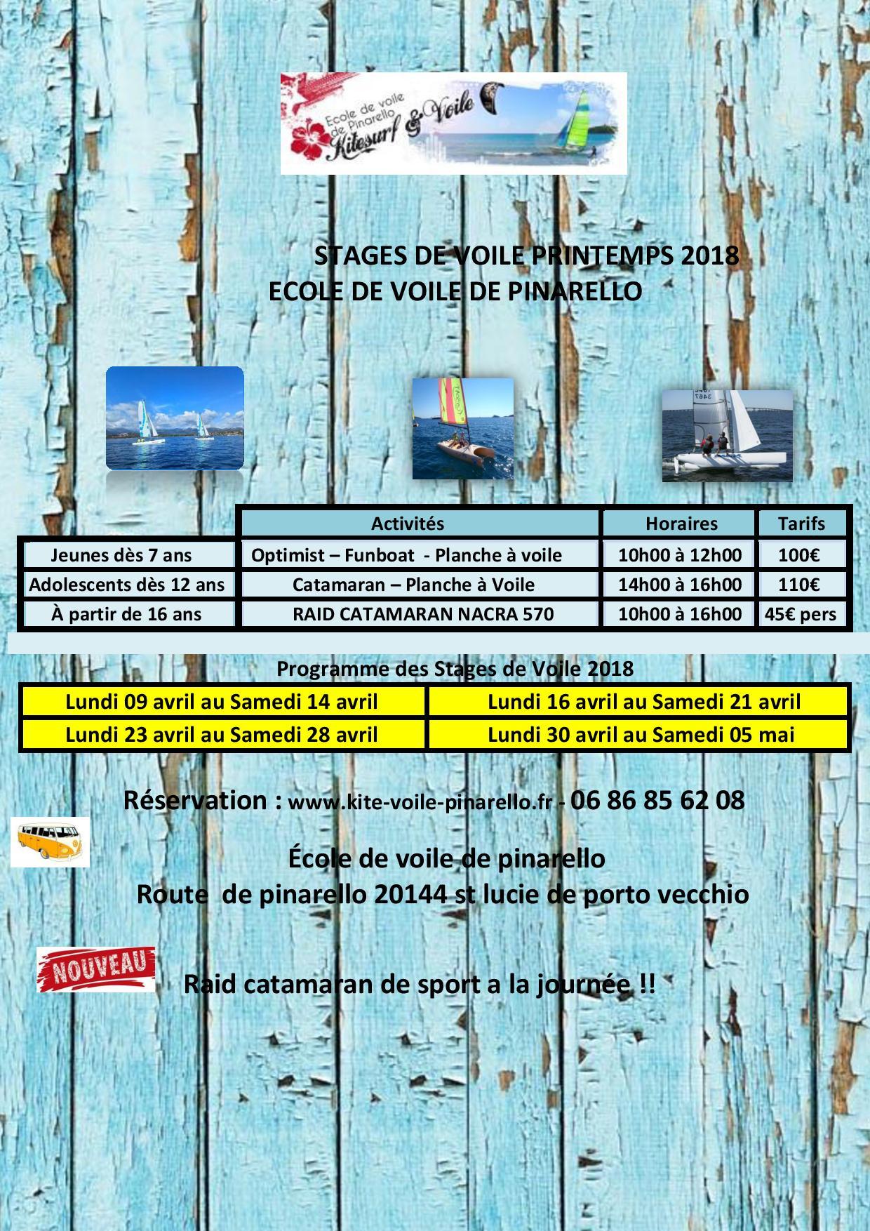 STAGES DE PRINTEMPS VOILE A ECOLE DE VOILE DE PINARELLO-page-001